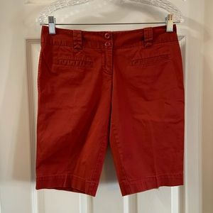 The Limited Red Drew Fit Shorts size 2